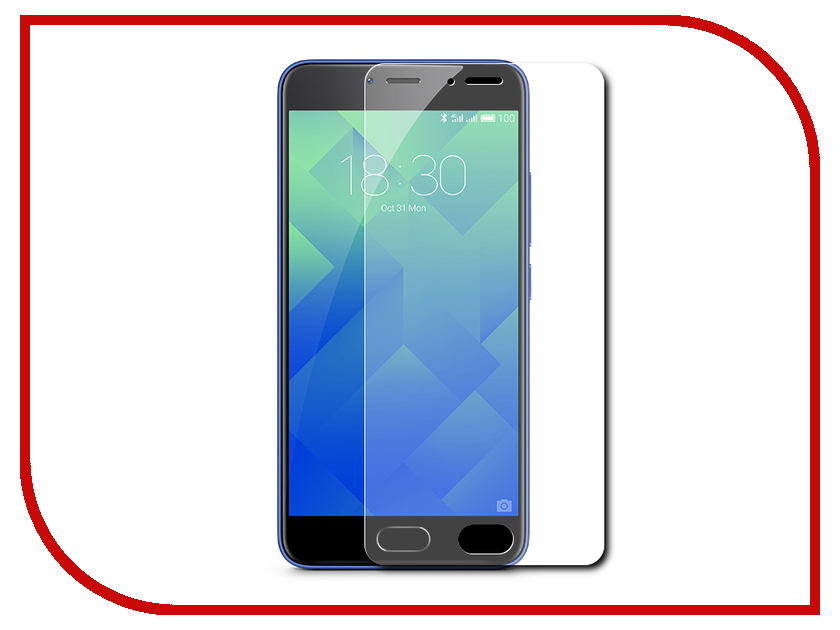 Аксессуар Защитное стекло Meizu M5S BoraSCO 0.2mm borasco borasco artworks для apple iphone 7 gymo