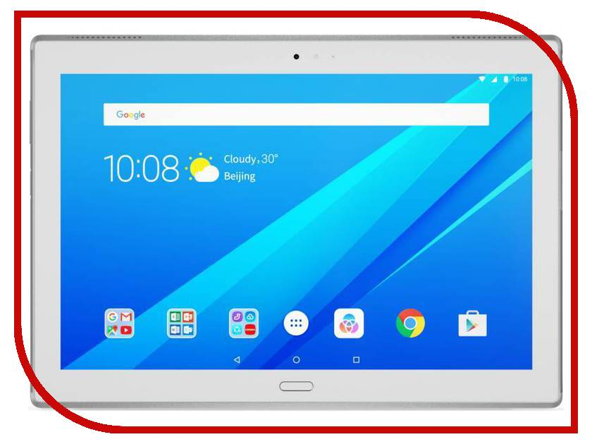 Планшет Lenovo Tab 4 10 Plus TB-X704L ZA2R0002RU (Qualcomm Snapdragon 625 2.0 GHz/3072Mb/16Gb/GPS/LTE/3G/Wi-Fi/Bluetooth/Cam/10.1/1920x1200/Android)