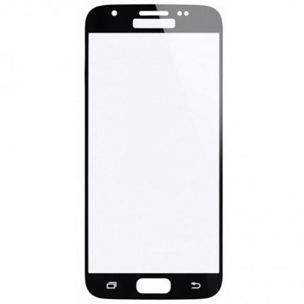 Аксессуар Защитное стекло для Samsung J3 2017 BoraSCO Full Cover Black