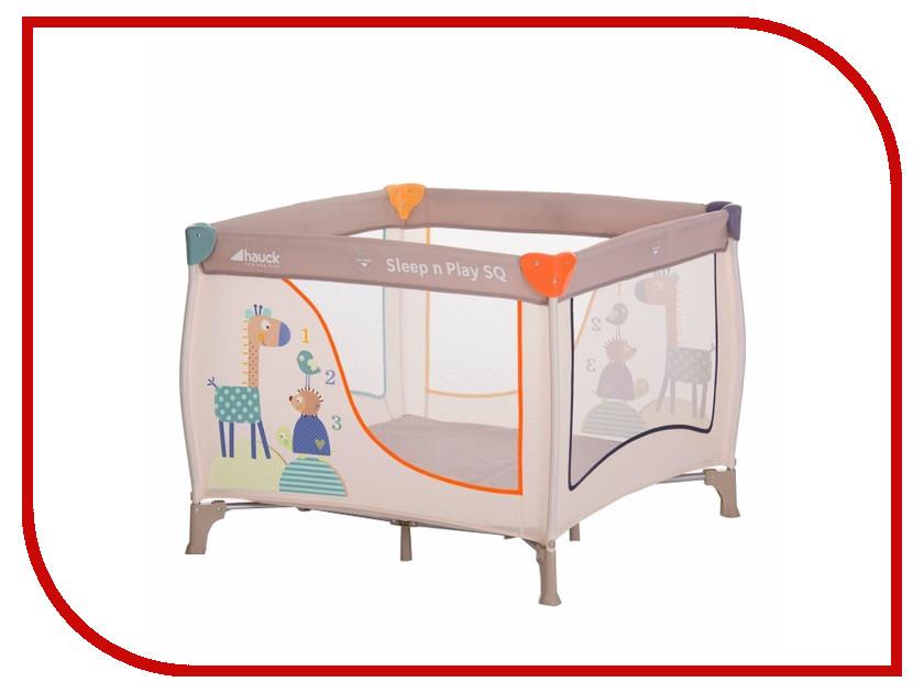 Манеж-кровать Hauck Sleepn Play SQ Animals 606124 цена