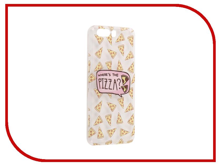 Аксессуар Чехол Huawei P10 With Love. Moscow Silicone Pizza 6412 аксессуар чехол huawei p10 plus with love moscow silicone pizza 6356