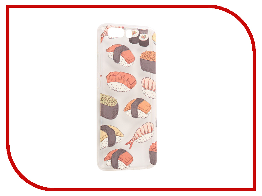 Аксессуар Чехол Huawei P10 With Love. Moscow Silicone Sushi 6449 stylish sushi tool vegetables combine with meat sushi machine