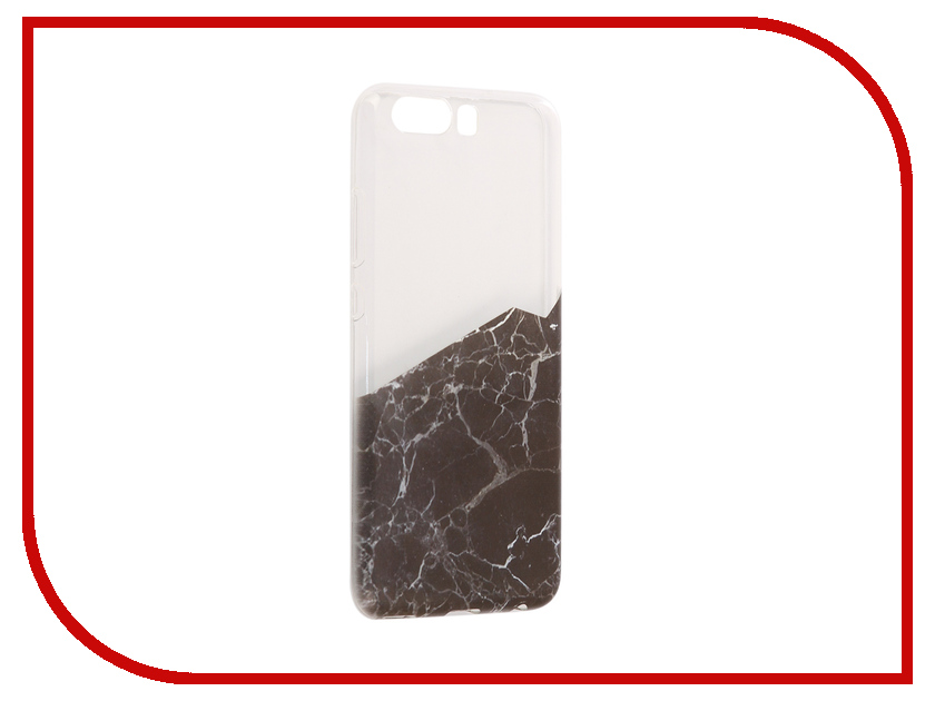 Аксессуар Чехол Huawei P10 With Love. Moscow Silicone Black Marble 2 6454 аксессуар чехол huawei y5 2017 with love moscow кожаный black 10232