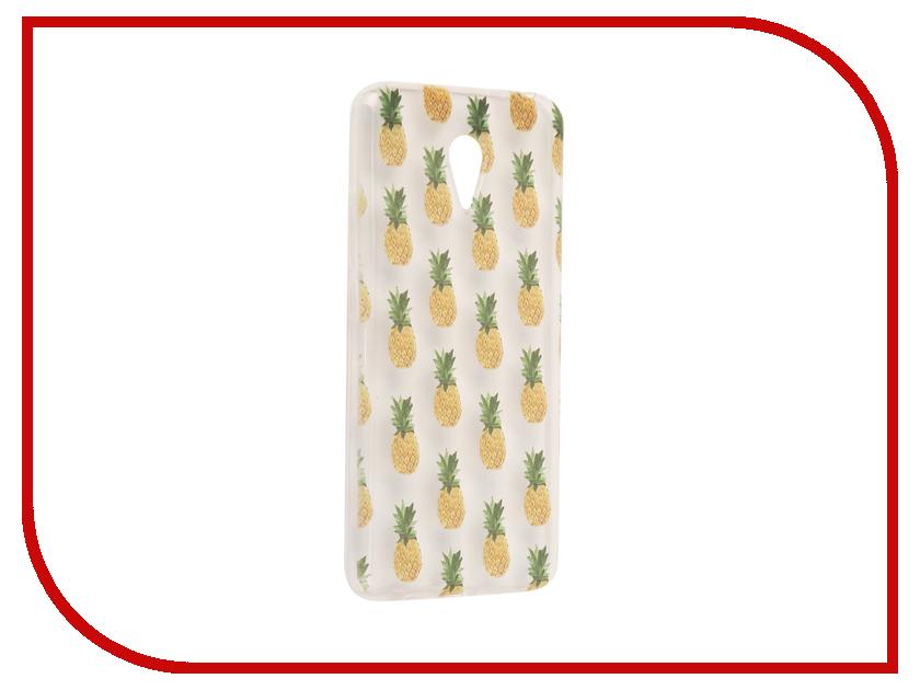 для Meizu 6528  Аксессуар Чехол Meizu M3 Note With Love. Moscow Silicone Pineapples 6528