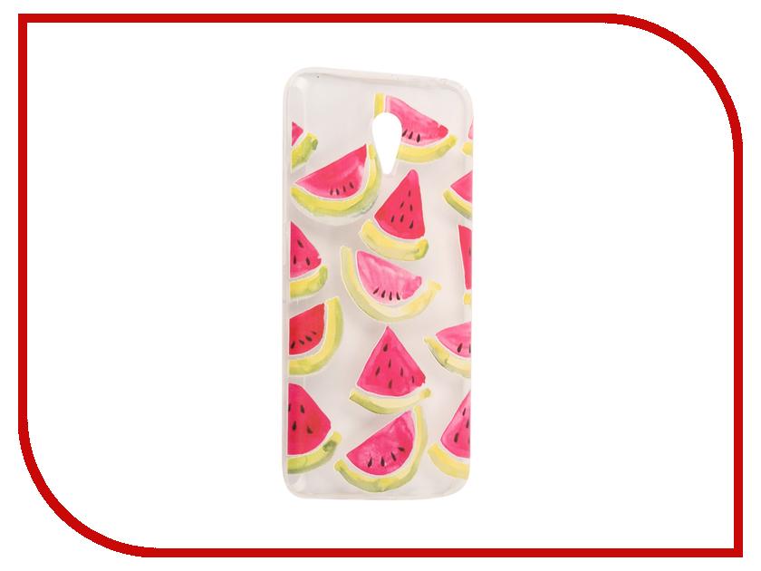 Аксессуар Чехол Meizu M3 Note With Love. Moscow Silicone Watermelon 3 6529 чехлы для телефонов with love moscow силиконовый дизайнерский чехол для meizu m3s перья