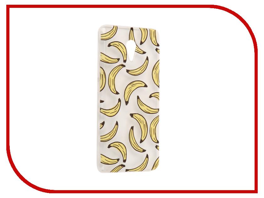 Аксессуар Чехол Meizu M3 Note With Love. Moscow Silicone Bananas 6530 чехлы для телефонов with love moscow силиконовый дизайнерский чехол для meizu m3s перья