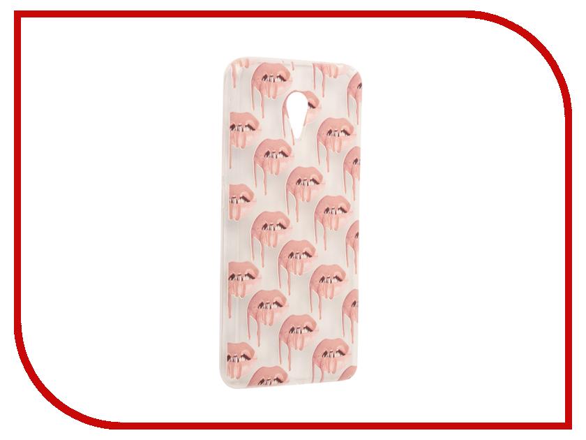 Аксессуар Чехол Meizu M3 Note With Love. Moscow Silicone Lips 2 6535 чехлы для телефонов with love moscow силиконовый дизайнерский чехол для meizu m3s перья