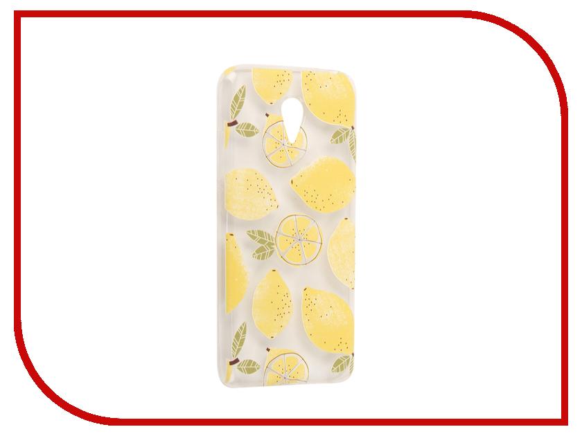 Аксессуар Чехол Meizu M3 Note With Love. Moscow Silicone Lemons 6549 чехлы для телефонов with love moscow силиконовый дизайнерский чехол для meizu m3s перья