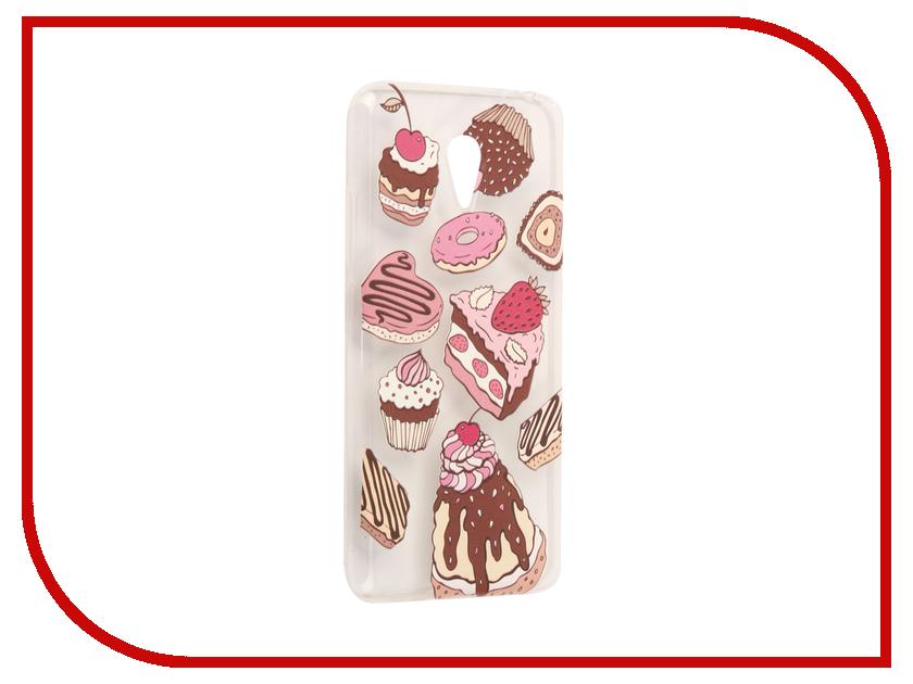 Аксессуар Чехол Meizu M3 Note With Love. Moscow Silicone Sweets 6559 чехлы для телефонов with love moscow силиконовый дизайнерский чехол для meizu m3s перья