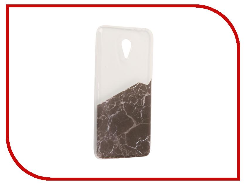Аксессуар Чехол Meizu M3 Note With Love. Moscow Silicone Black Marble 2 6566 чехлы для телефонов with love moscow силиконовый дизайнерский чехол для meizu m3s перья