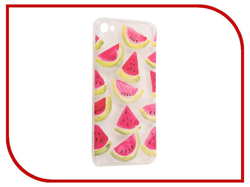 Аксессуар Чехол Meizu U20 With Love. Moscow Silicone Watermelon 3 6865 чехлы для телефонов with love moscow силиконовый дизайнерский чехол для meizu m3s перья