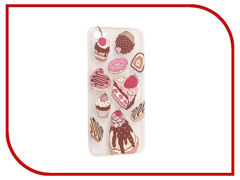 Аксессуар Чехол Meizu U20 With Love. Moscow Silicone Sweets 6895 чехлы для телефонов with love moscow силиконовый дизайнерский чехол для meizu m3s перья