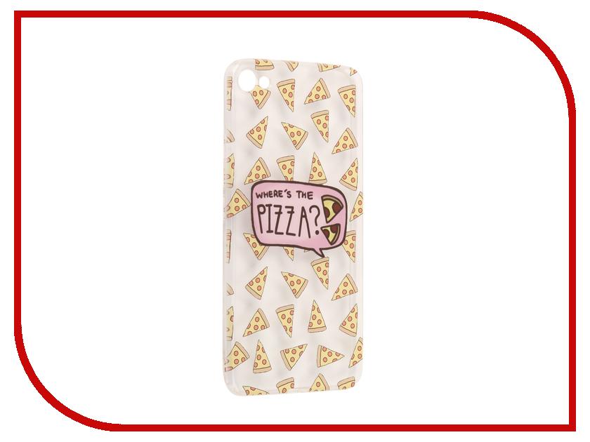 Аксессуар Чехол Meizu U10 With Love. Moscow Silicone Pizza 6804 чехлы для телефонов with love moscow силиконовый дизайнерский чехол для meizu m3s перья