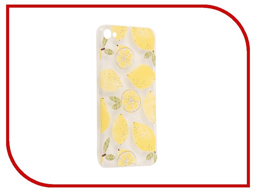 Аксессуар Чехол Meizu U10 With Love. Moscow Silicone Lemons 6829 чехлы для телефонов with love moscow силиконовый дизайнерский чехол для meizu m3s перья