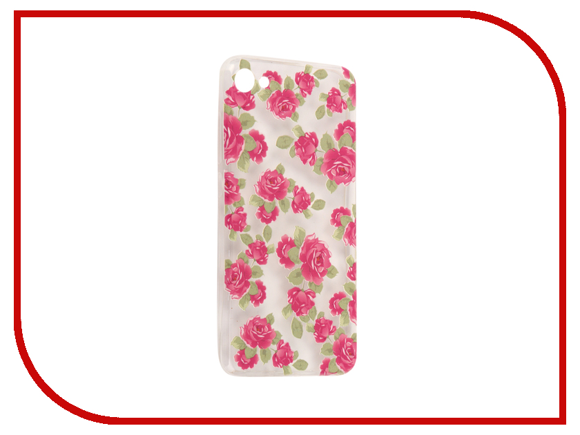 Аксессуар Чехол Meizu U10 With Love. Moscow Silicone Flowers 5 6845 радиотелефон dect panasonic kx tg1611ruw белый