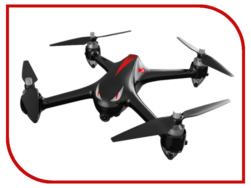 Квадрокоптер MJX Bugs-2-w с GPS и 1080P камерой и Wi-Fi mjx квадрокоптер на радиоуправлении bugs 2 цвет белый