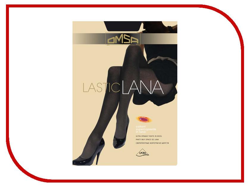 Колготки OMSA Lasticlana размер 3 Nero колготки omsa top 100 цвет nero черный 321om размер 3 42 44