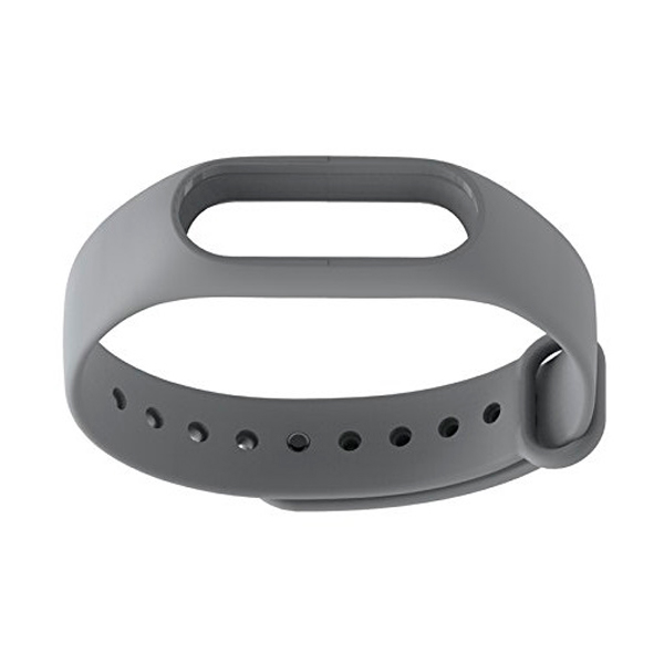 Aксессуар Ремешок Xiaomi Mi Band 2 Silicone Grey