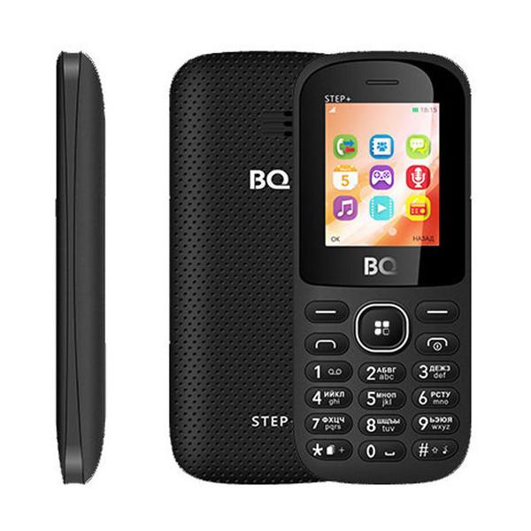 Сотовый телефон BQ 1807 Step+ Black сотовый телефон bq bq 4028 up black