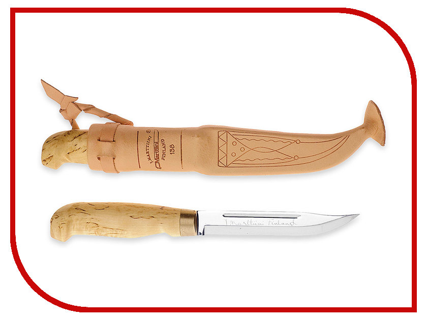 Marttiini Lynx 138 138010 - длина лезвия 130mm нож универсальный marttiini lynx knife 129