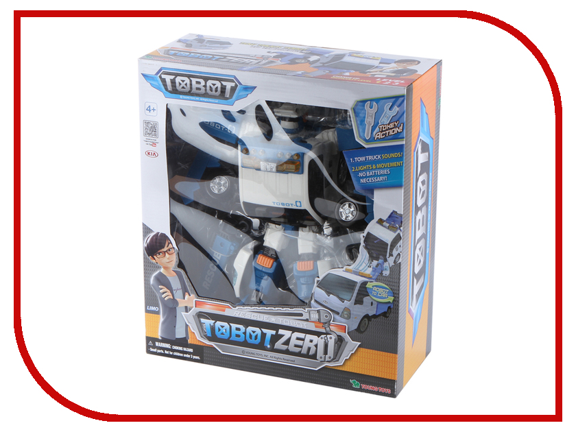 Игрушка Young Toys Tobot Зеро 301018