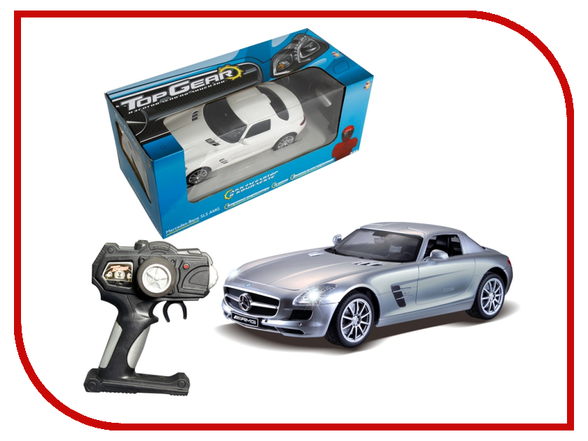 Игрушка 1Toy Top Gear Mercedes Benz SLS 1:14 Т56691 1toy mercedes benz m350 1 24 top gear с зарядным устройством