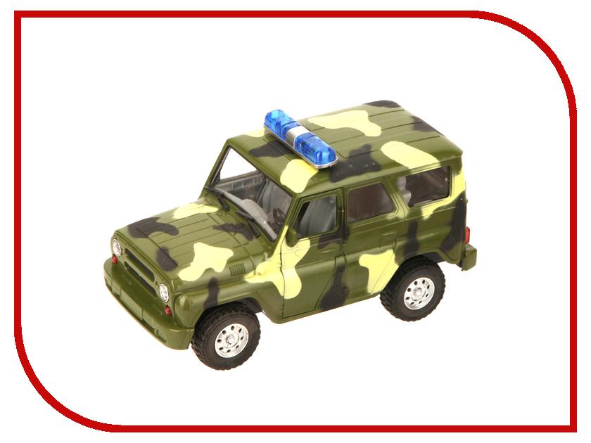 Машина Play Smart УАЗ Hunter Khaki Р40510 play smart металлич инерц машина джип автопарк play smart м1 50 box 12x5 7x6 8 см арт 6403a а74787