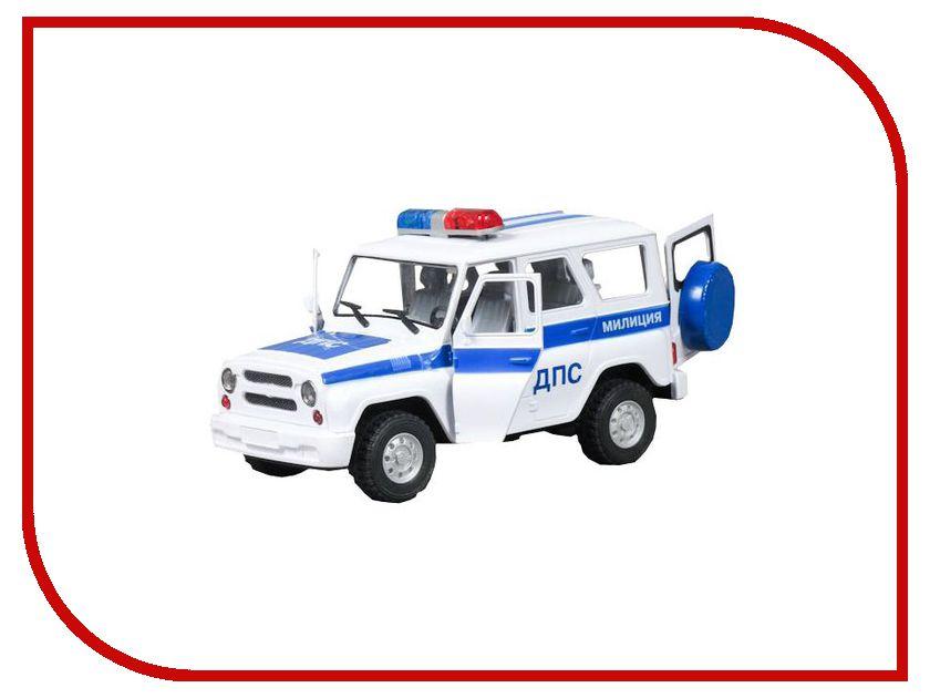 Машина Play Smart УАЗ Hunter ДПС Р40511 play smart металлич инерц машина джип автопарк play smart м1 50 box 12x5 7x6 8 см арт 6403a а74787