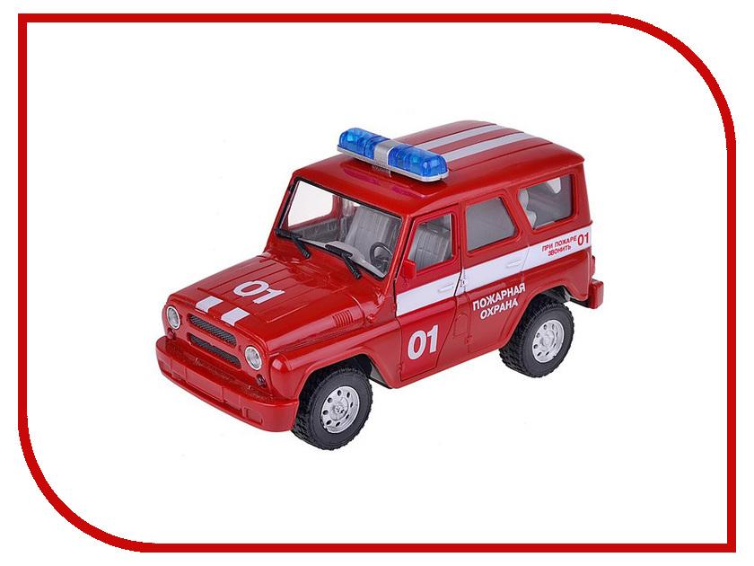 Машина Play Smart УАЗ Hunter пожарная Р40512 play smart машина автопарк пожарная служба 9557 а