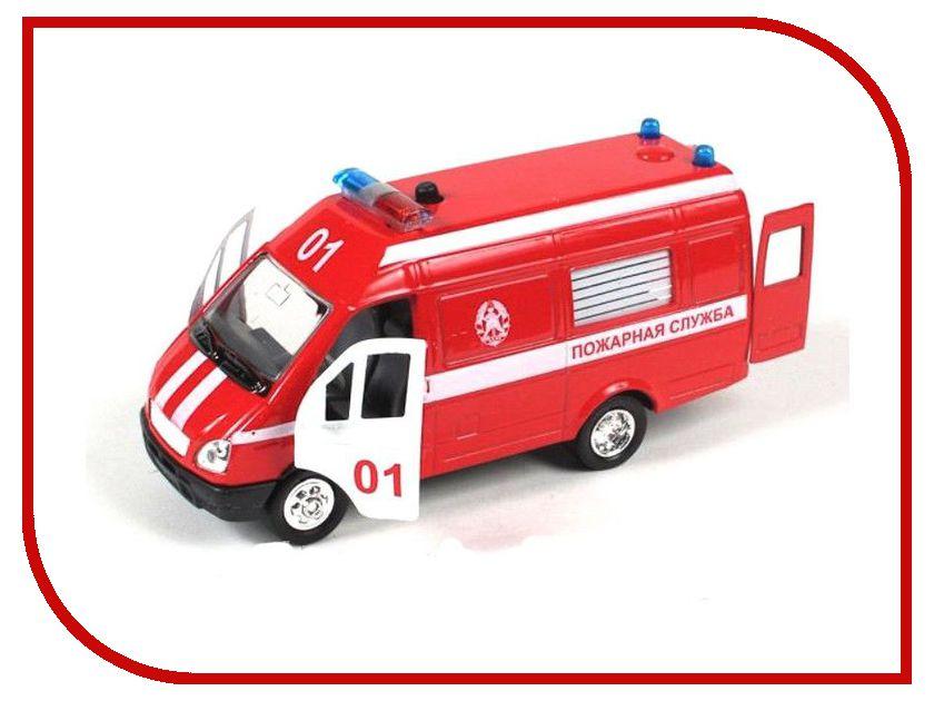 Машина Play Smart Газель 3221 пожарная Р40526 play smart машина автопарк пожарная служба 9557 а