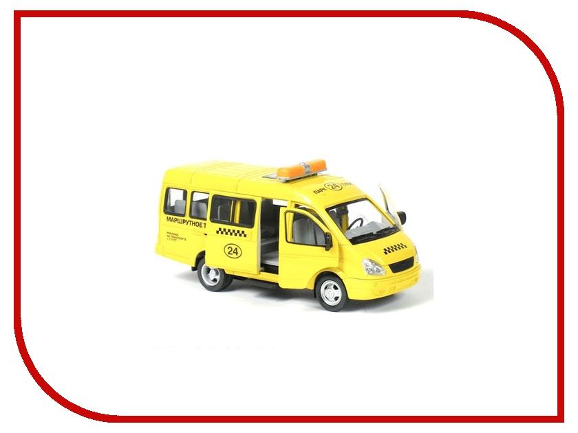 Машина Play Smart Газель 3221 такси Р40530 машины play smart автопарк инерционная машина газель 3221 такси 23 см