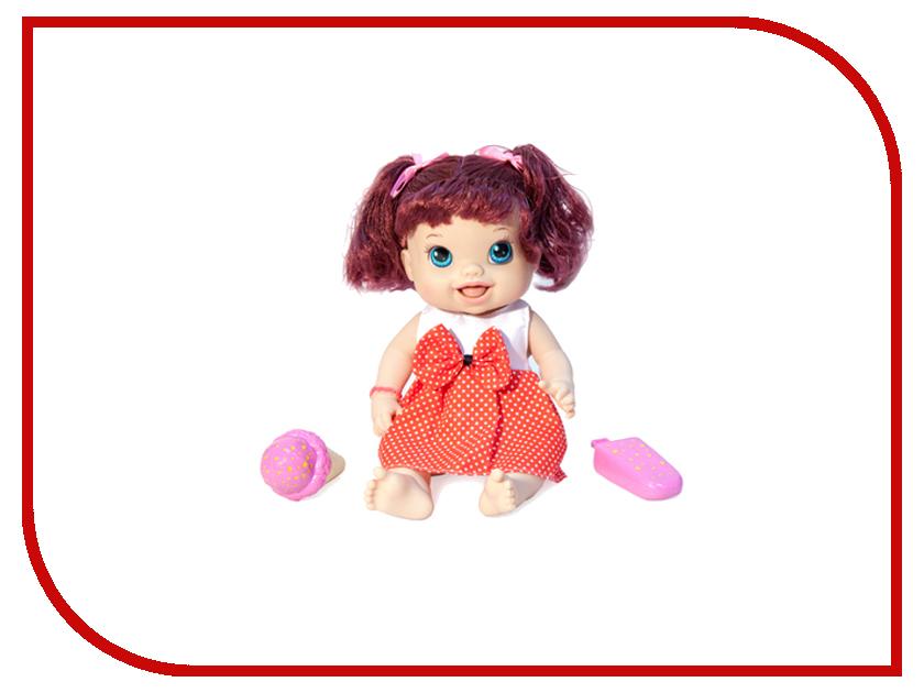 Кукла 1Toy Лакомка Лиза красноволосая с хвостиками Т10378 1toy 1toy кукла лакомка лиза с мороженым красноволосая с хвостиками 36 см