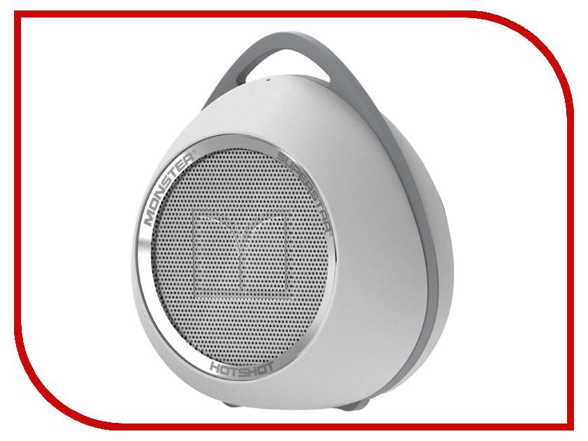 Колонка Monster SuperStar HotShot Portable Bluetooth White with Chrome 129290-00 портативная колонка monster superstar blaster 129287 00