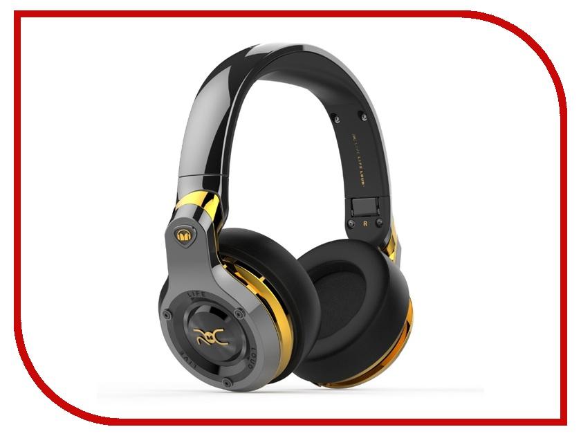Гарнитура Monster ROC Sport Bluetooth Black Platinum Over-Ear Wireless 137045-00 гарнитура monster isport achieve bluetooth black in ear wireless 137089 00