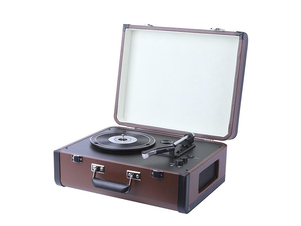 Проигрыватель Crosley Portfolio Portable CR6252A-BR