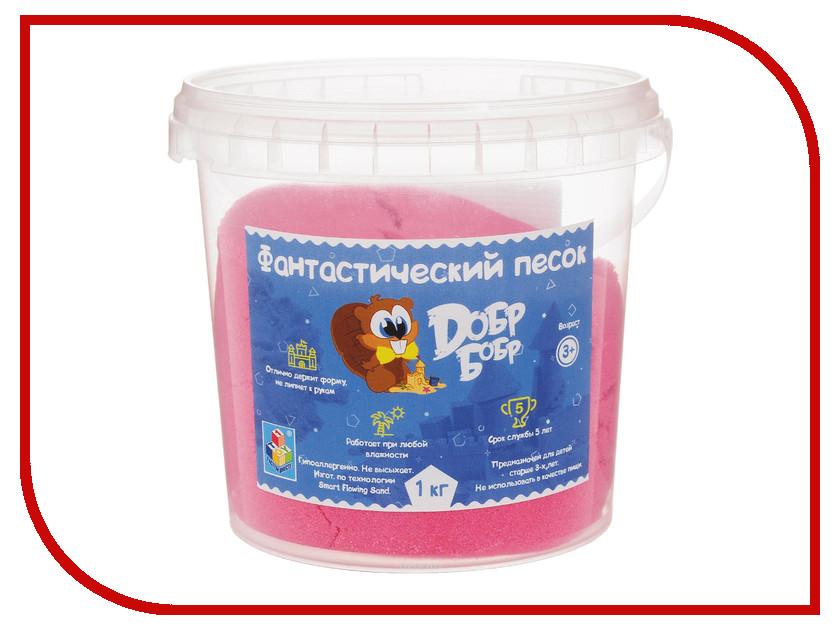 Набор для лепки 1Toy Фантастический песок Pink 1kg Т10263