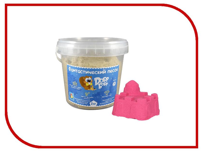 Набор для лепки 1Toy Фантастический песок Pink 2kg Т10268