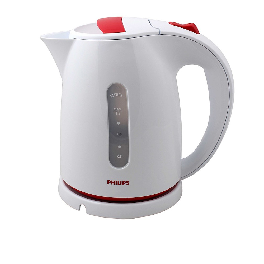 Чайник Philips HD4646/40 White-Red чайник электрический philips hd4646 70