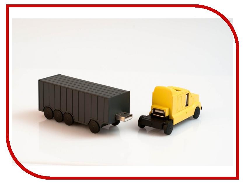 Orient TR-575 + 3 ports HUB Yellow-Grey<br>