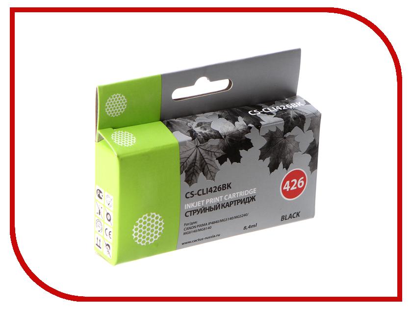 Картридж Cactus 426 CS-CLI426BK Black тонер картридж cactus cs ep22s