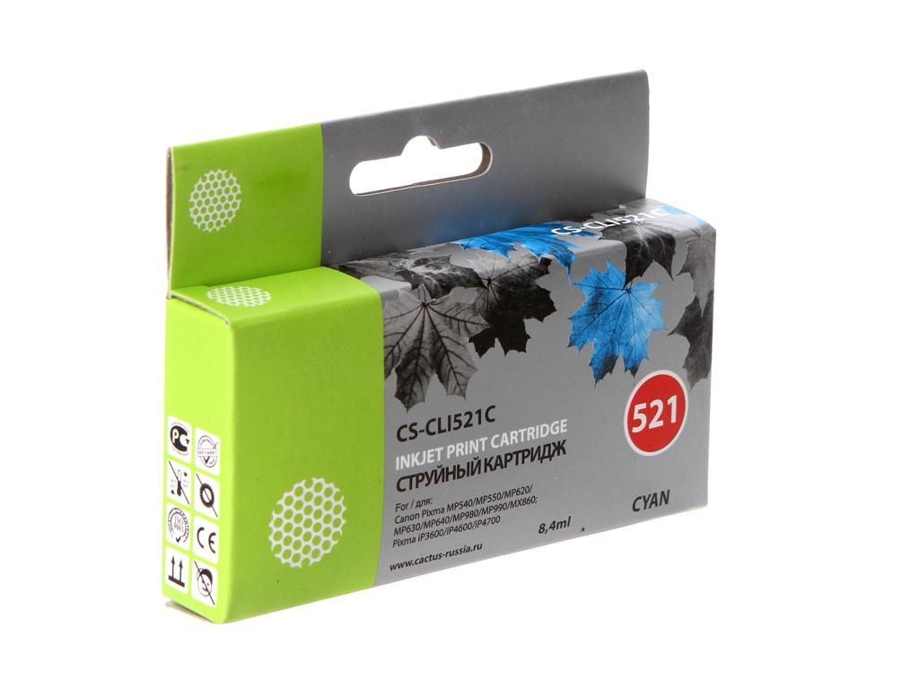 Картридж Cactus 521 CS-CLI521C Cyan