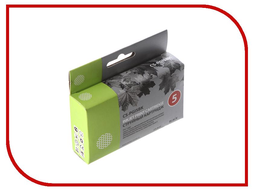 Картридж Cactus 5 CS-PGI5BK Black тонер картридж cactus cs ep22s
