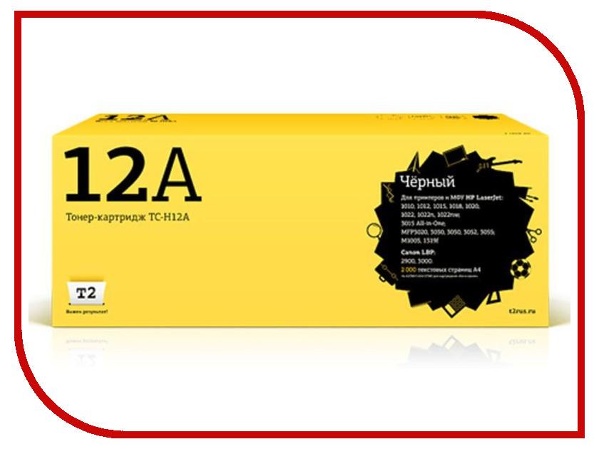 Картридж T2 TC-H12A Black t2 712 tc c712