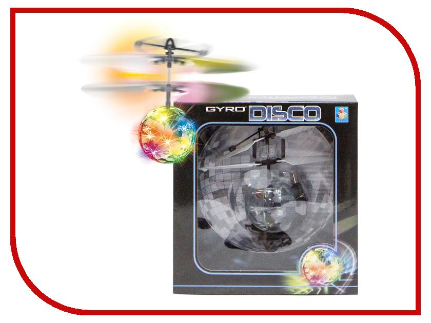 Игрушка 1Toy Gyro-Disco Т10794 игрушка 1toy gyro 109 вертолет с гироскопом т52819