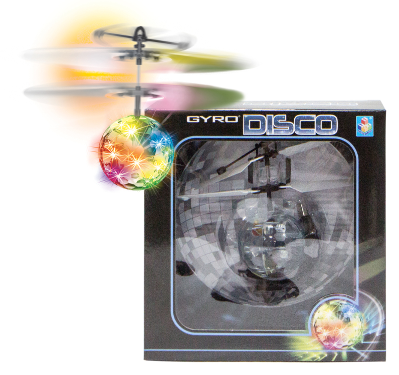 Вертолет 1Toy Gyro-Disco Т10794
