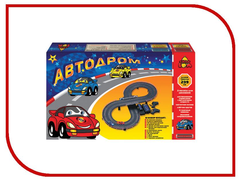 Автотрек Тилибом Автодром Т80438 бластер тилибом т80387