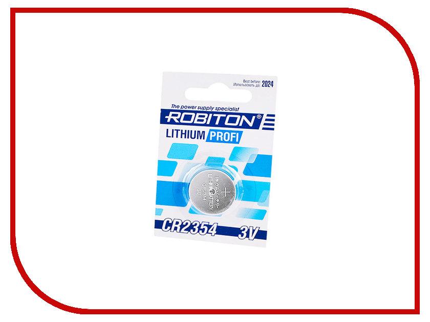 Батарейка CR2354 - Robiton Profi R-CR2354-BL1 14631 батарейка cr123a kodak ultra cr123a 3v bl1 1 штука