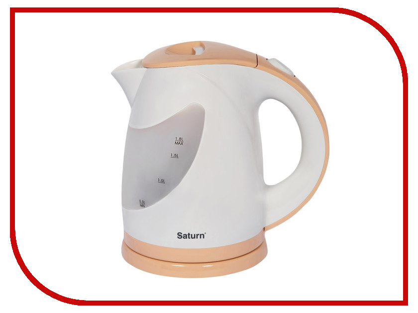 Чайник Saturn ST-EK0004 Cream термопот saturn st ek 8030 white with beige