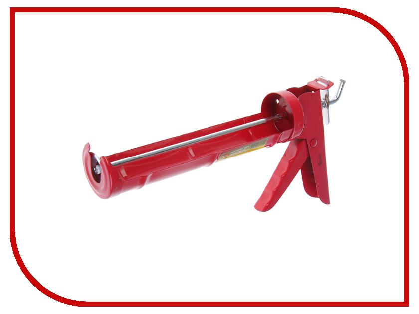 Пистолет для герметика Hobbi Полукорпусный 9, гладкий шток