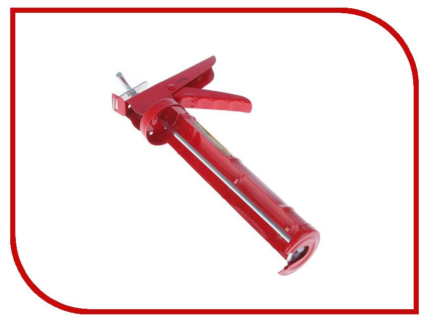 Пистолет для герметика Hobbi Полукорпусный храповый механизм 9, зубчатый шток 23-1-003